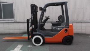 Xe nâng chạy xăng sử dụng nhiên liệu bằng xăng sạch