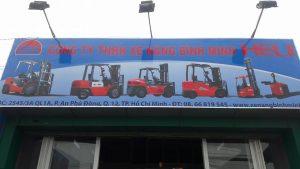 Xe nâng tại Hồ Chí Minh