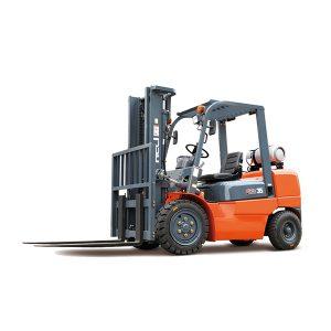 Xe nâng hàng chạy gas xăng Heli, H2000 series, 1-3.5 tấn