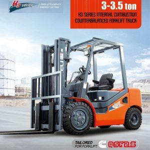 Xe nâng động cơ Diesel Heli3.5 tấn